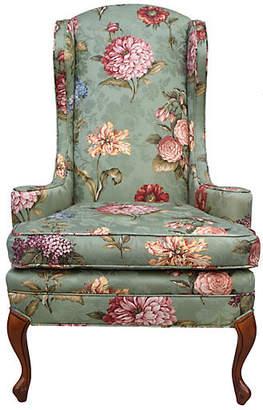 One Kings Lane Vintage Wingback Chair by Baker Furniture