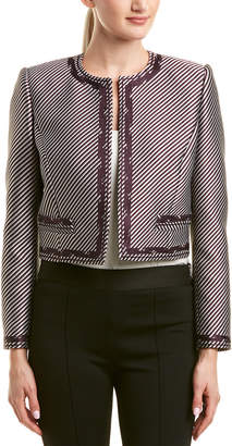 Carolina Herrera Silk-Lined Jacket