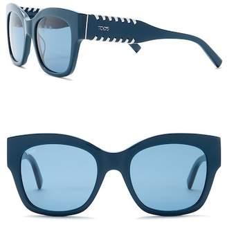 Tod's 53mm Retro Sunglasses