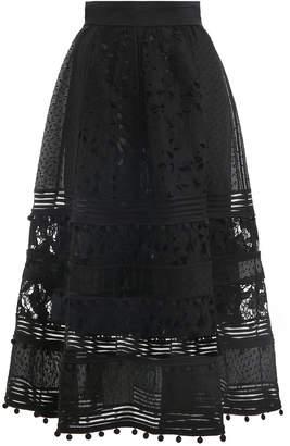 Zimmermann Corsage Embellished Skirt