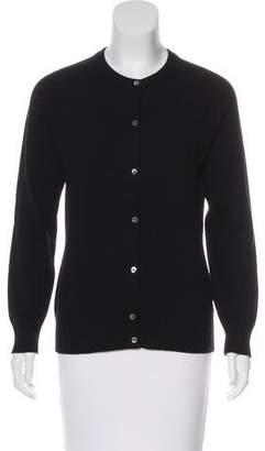 Barneys New York Cashmere Button-Up Cardigan