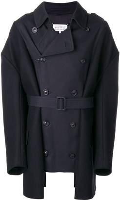 Maison Margiela panelled trench coat
