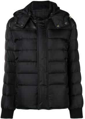 Saint Laurent hooded puffer jacket