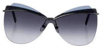 Marc Jacobs Oversize Butterfly Sunglasses