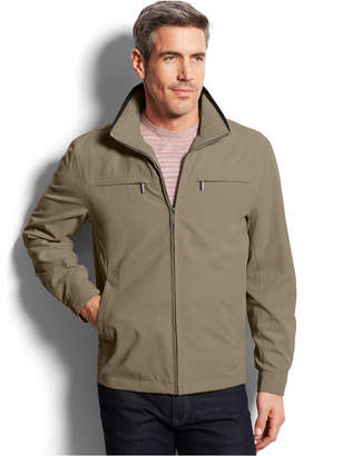 London Fog Men's Big & Tall Micro Hipster Jacket $160 thestylecure.com