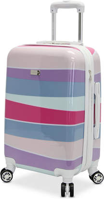 "Steve Madden Stripes 28"" Expandable Hardside Spinner Suitcase"