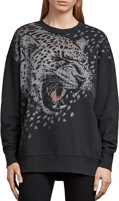 AllSaints Joy Sabre Graphic Sweatshirt