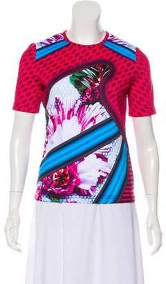 Mary Katrantzou x adidas Crew Neck Short Sleeve Top