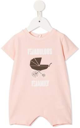 Fendi Fabulous Family jersey onesie