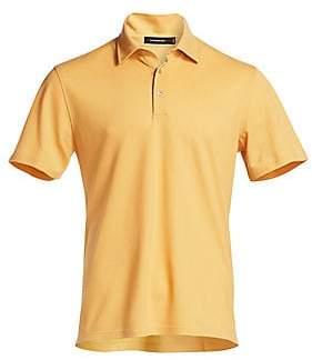 Ermenegildo Zegna Men's Cotton Pique Polo Shirt
