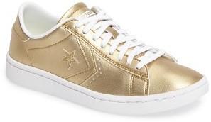 Women's Converse Lp Metallic Sneaker $89.95 thestylecure.com