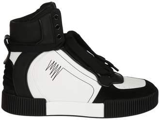 Dolce & Gabbana Oversized Tongue Hi-top Sneakers