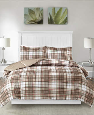 Madison Park Essentials Parkston Reversible 3-Pc. Full/Queen Comforter Set Bedding