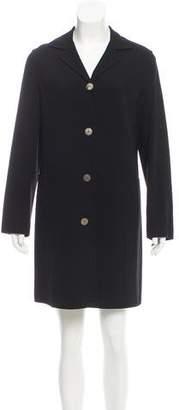 Agnona Wool Knee-Length Jacket