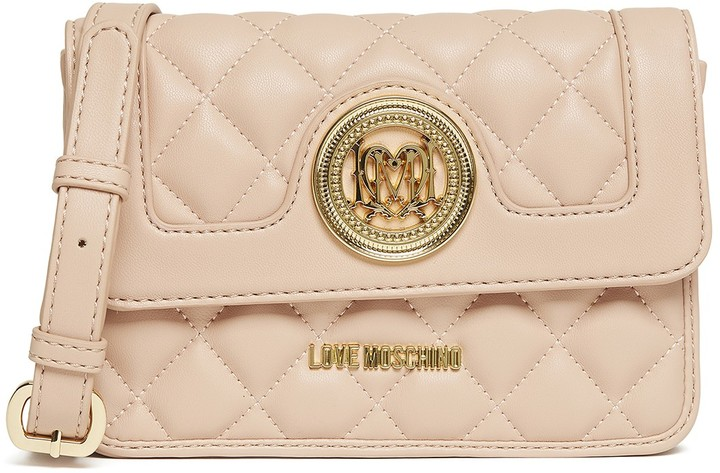 Love Moschino LOVE Moschino Quilted Crossbody
