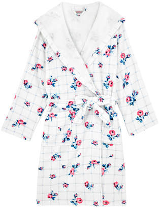 Cath Kidston Grid Floral Towelling Dressing Gown