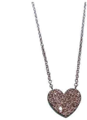 White gold tiffany necklace with heart pendant shopstyle pre owned at vestiaire collective tiffany co white gold pendant aloadofball Choice Image