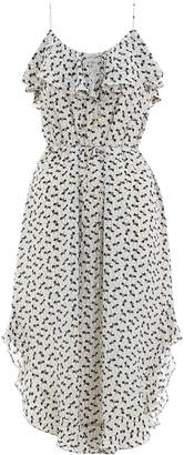 Zimmermann Flounce Neck Tank Dress