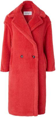 Max Mara Teddy wool and alpaca coat