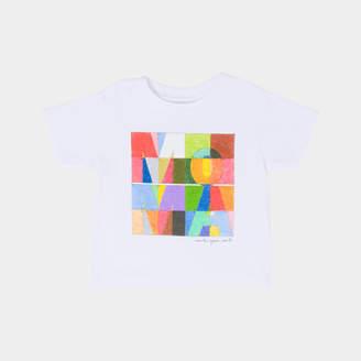 MoMA STORE (モマ ストア) - MoMA STORE YOSHIMOTO ロゴ キッズ Tシャツ 12M