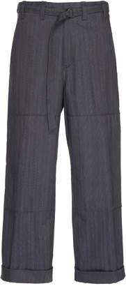 Lanvin Cotton Cargo Trousers