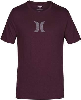 Hurley MTS0023530 Men's Icon Push Through T-Shirt, - XL