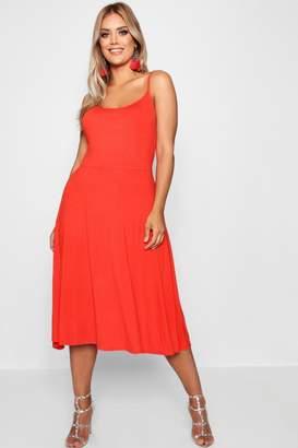 eaa6d3eadc5 boohoo Orange Jersey Dresses - ShopStyle UK