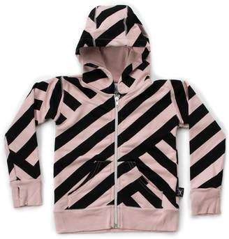 Nununu Youth Striped Zip Hoodie