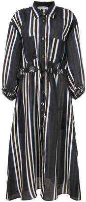 Apiece Apart striped shirt dress