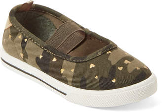 Carter's Toddler Girls) Camo Briana Mary Jane Flats