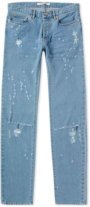 Givenchy Distressed Rico Fit Slim Jean