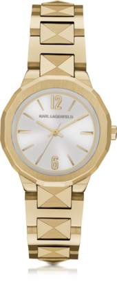 Karl Lagerfeld Joleigh Goldtone Iconic Women's Watch