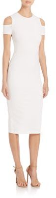 Alice + Olivia Alice + Olivia Meya Fitted Dress