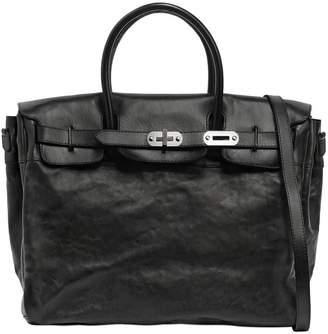 Numero 10 Leather Bag W/ Vintage Effect