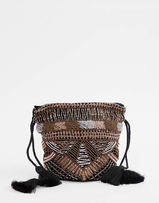 Cleobella Mallou heavy embellished party bag