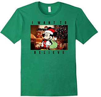 Disney Micky Mouse Christmas Believe T-Shirt