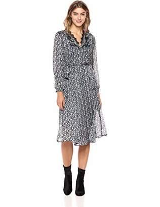 Lucky Brand Women's Printed Wrap Dress
