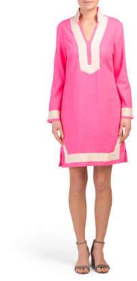 Long Sleeve Classic Shift Dress