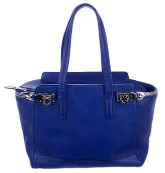 Salvatore Ferragamo Grain Leather Handle Bag