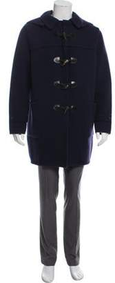 Maison Margiela Wool Duffle Coat navy Wool Duffle Coat