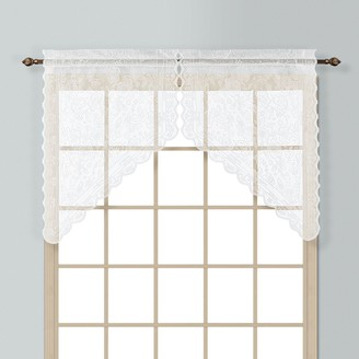 Co United Curtain Windsor Swag Curtain Pair - 56'' x 38''