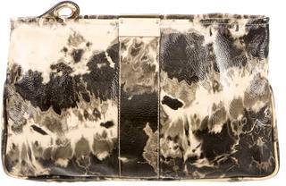 Jimmy ChooJimmy Choo Printed Patent Leather Clutch