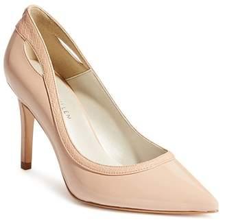 9f0cbed49e2 Karen Millen Women's Court Pointed Toe Cut-Out High-Heel Pumps
