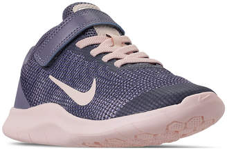Nike Toddler Girls' Flex Run 2018 Adjustable Strap Running Sneakers from Finish Line