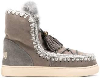 Mou Eskimo tassel ankle boots