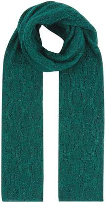 Sandro Knitted Shimmer Scarf