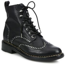 Rag & Bone Cozen Studded Leather Booties $650 thestylecure.com