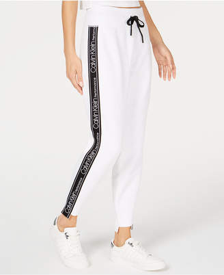 Calvin Klein Fleece Step-Hem Joggers