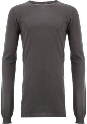 Rick Owens long slim fit sweater