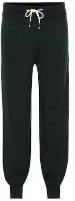 Tory Sport Cashmere-blend track pants
